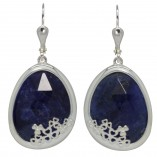 7196 Shamrock Sodalite Earrings