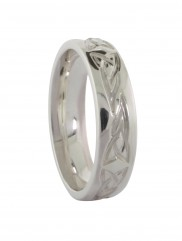 Gents Band with Celtic Knot Etching - 1034