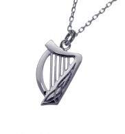 Double Sided Harp with Celtic Knot Detail - 2102