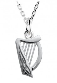 Double Sided Harp with Celtic Knot Detail - 2103
