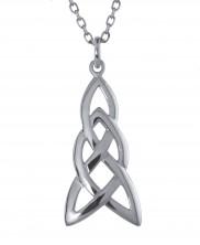 Long Celtic Knot Pendant - 2144