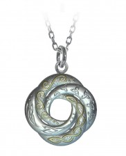 Celtic Swirl Love Knot Pendant - 2160