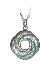 Celtic Swirl Love Knot Pendant - 2160