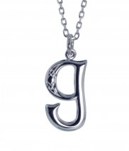 G Initial Book of Kells Inspired Pendant - 2196