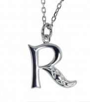 R Initial Book of Kells Inspired Pendant - 2196