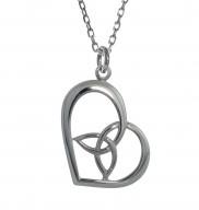 Trinity Heart Pendant - 2246