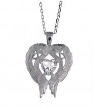 Celtic angel wings of love pendant - 2265