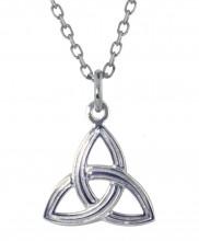 Ridged Trinity Knot Pendant - 2285