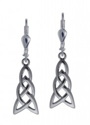 7062 Elongated Celtic Knot Earrings