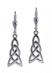 7062 Elongated Celtic Knot Earrings