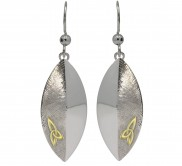 Sterling Silver Trinity Knot Layer Earrings - 7073