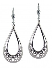 7133 Celtic Knot Teardrop Earrings