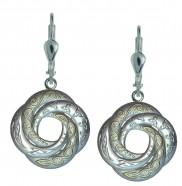 7175 Celtic Love Swirl Earrings