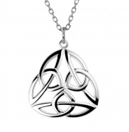 Open Celtic Weave Trinity Pendant - 2283
