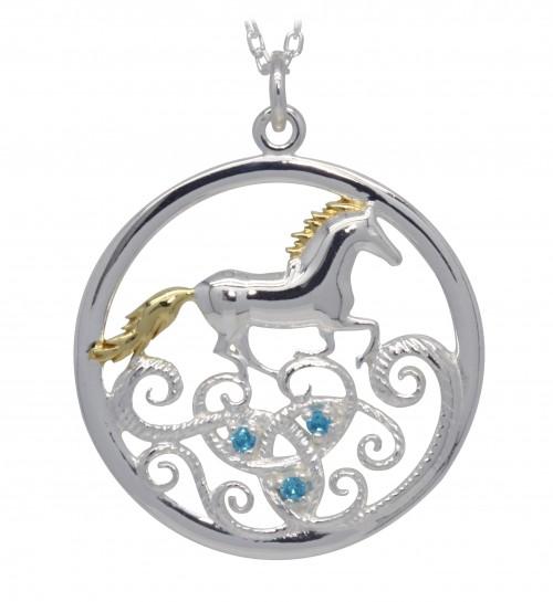 Tir Na N'Og Horse Pendant